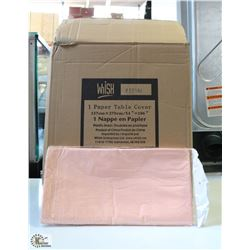 CASE OF 30 CLASSIC (LIGHT) PINK TISSUE TOP