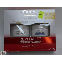 LOREAL REVITALIFT ANTI WRINKLE PLUS FIRMING CREAMS
