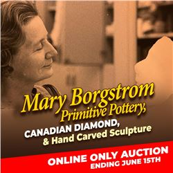 START BIDDING ON THE MARY BORGSTROM ONLINE AUCTION