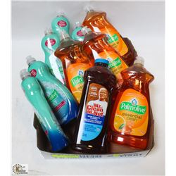 FLAT OF ASSORTED DISH SOAPS