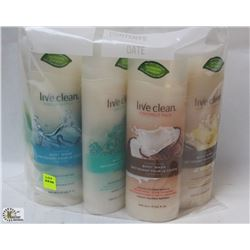 BAG OF LIVE CLEAN BODY WASH