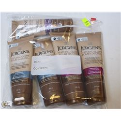 BAG OF JERGENS TANNING MOISTURIZER