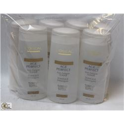 BAG OF LOREAL AGE PERFECT TONER AND LOTION
