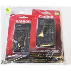 LOT OF 3 CANON 154 FUNCTION SCIENTIFIC CALCULATORS