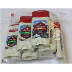 BAG OF ASSORTED OLD SPICE STICK DEODORANT