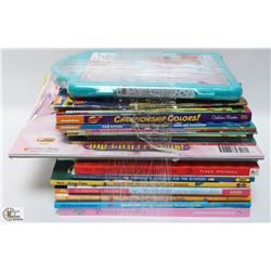 LOT OF ASSORTED CHILDRENS BOOKS