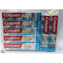 BAG OF 7 COLGATE TOOTHPASTE
