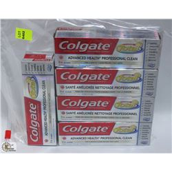 BAG OF 5 COLGATE TOOTHPASTE