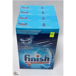 4 BOXES OF FINISH ADVANCE FORMULA POWDER