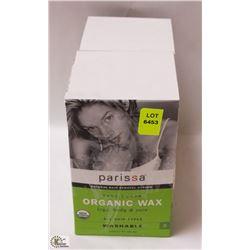 2 BOXES OF PARISSA ORGANIC WAX