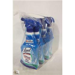 6 BOTTLES OF LYSOL BATHROOM CLEANER