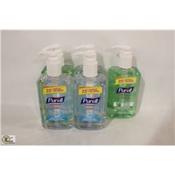 LOT OF ASSORTED PURELL HAND SANITIZER