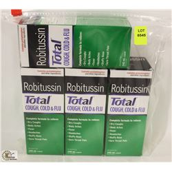 BAG OF ASSORTED ROBITUSSIN