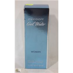 DAVIDOFF COOL WATER FOR WOMEN EAU DE TOILETTE 50ML