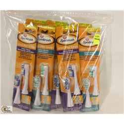 BAG OF ARM & HAMMER SPIN BRUSH REPLACEMENT HEADS