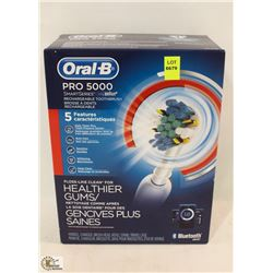 ORAL B PRO 5000 RECHARGEABLE ELECTRIC TOOTHBRUSH