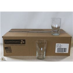 CARDINAL TULIP BEER GLASS, 14 OZ., CASE ARC26