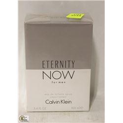 CALVIN KLIEN ETERNITY NOW FOR MEN EAU DE TOILETTE
