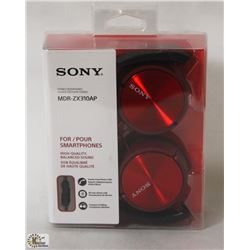SONY MDR-ZX310AP STEREO HEADPHONES