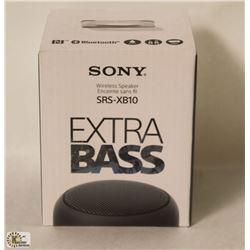 SONY SRS-XB10 WIRELESS SPEAKER WITH EXTRA BASS