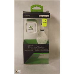 RETRACT PREMIUM SERIES WALL CHARGER & RETRACTABLE