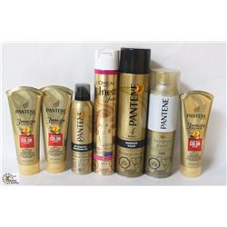 BAG OF ASSORTED PANTENE HAIR PRODUCTS
