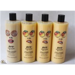 4 BOTTLES OF BEING BY SANCTUARY SPA BUBBLE BATH