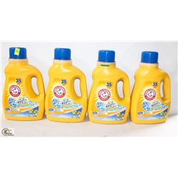 4 BOTTLES OF ARM & HAMMER OXI CLEAN STAIN FIGHTER