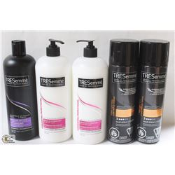 BAG OF ASSORTED TRESEMME HAIR CARE PRODUCTS