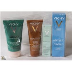 BAG OF VICHY SKIN PRODUCTS
