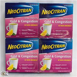 4 PACKS OF ASSORTED NEOCITRAN