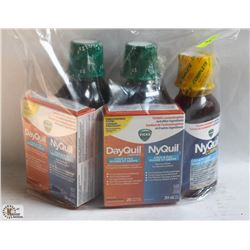 BAG WITH NYQUIL & DAY QUIL CONVENIENCE PACKS