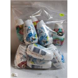 BAG OF ASSORTED AIR FRESHENERS