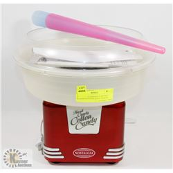 NOSTALGIA HARD&SUGAR FREE CANDY COTTON CANDY MAKER