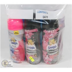 BAG OF ASSORTED LAUNDRY SCENT BOOSTERS