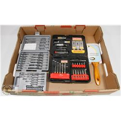 FLAT OF DRILL BITS AND MORE