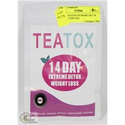 14 DAY TEATOX EXTREME DETOX WEIGHT LOSS TEA