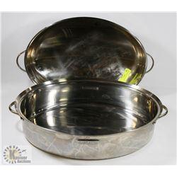 XL LOGISTINA ROASTER PAN WITH LID