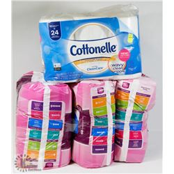 COTTONELLE TOILET PAPER SOLD WITH 3 PACKS OF POISE