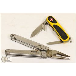 LEATHERMAN WAVE MULTITOOL SOLD WITH WENGER