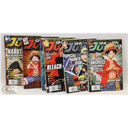 6 SHONEN JUMP GRAPHIC NOVELS - GENERAL,