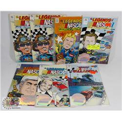 BUNDLE OF NASCAR COMICS