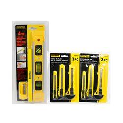 "NEW! 4PC 9"" LEVEL WITH CARPENTER PENCIL &"