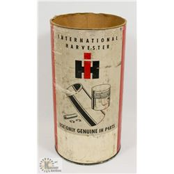 INTERNATIONAL HARVESTERS SLEEVE AND PISTON TUBE.