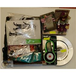 LARGE BUNDLE OF ASSORTED ITEMS INCLUDING COLLECTOR
