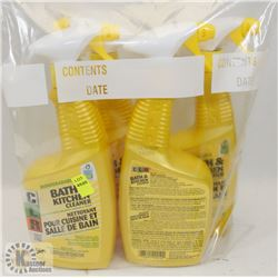 BAG OF CLR BATH AND KITCHEN CLEANER