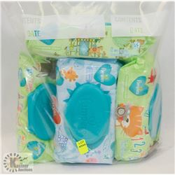 BAG OF ASSORTED PAMPERS BABY WIPES