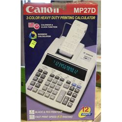 CANON MP27D HEAVY DUTY PRINTING CALCULATOR