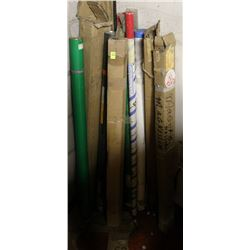 LOT OF ASSORTED WELDING ELECTRODES
