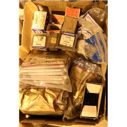 FLAT OF ASSORTED NEW BOLTS, SCREWS & MORE